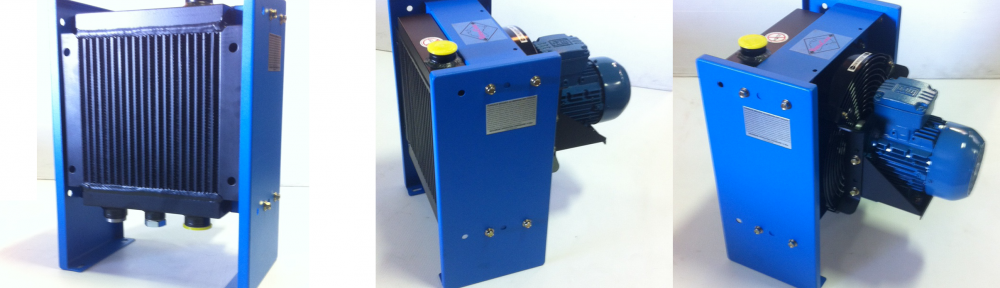 Compact Hydraulic Oil Coolers : Versacool compact fan oil coolers oem dynamics